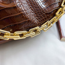 Load image into Gallery viewer, Retro Alligator Crossbody Clutch Bags - LUXE215