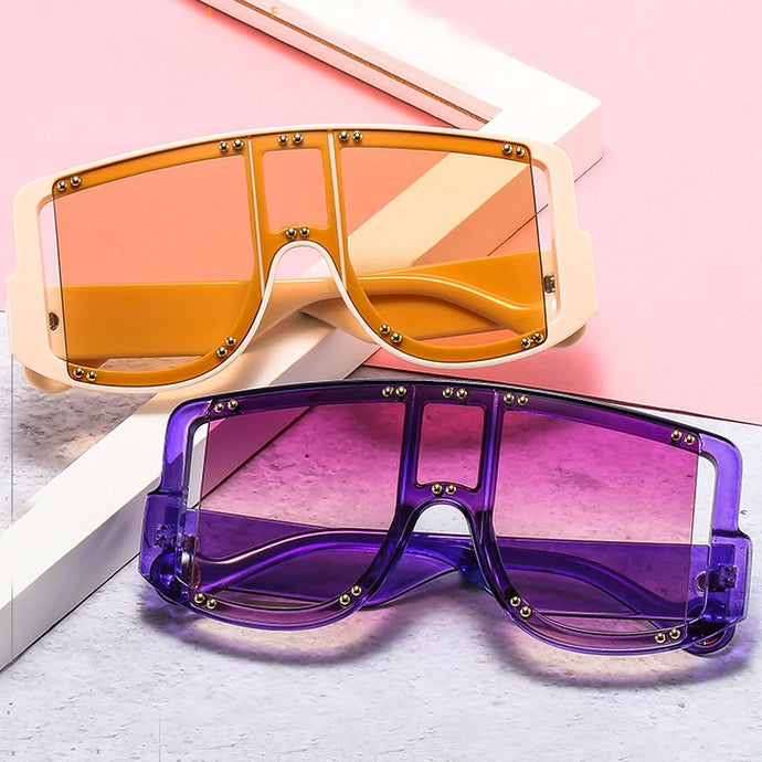2021 New Candy Color Shield Sunglasses - Two-One-Fifth Co.