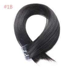 "Load image into Gallery viewer, Tape-In Remy Human Hair Extensions 18"" 20"" 22""  Color 1B/613/27/4 - LUXE215"