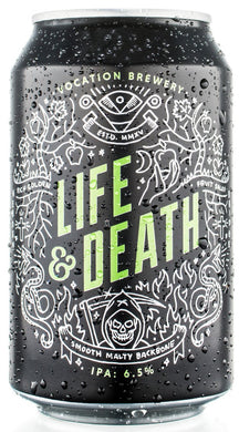 Vocation Brewery Life&Death IPA 330ml 6.5% ABV
