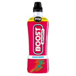 Boost Sport Mixed Berry 12 x 500ml