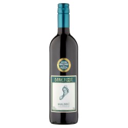 Barefoot Malbec 75cl 13.5% ABV