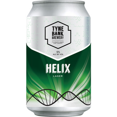 Helix Lager 330ml 5% ABV