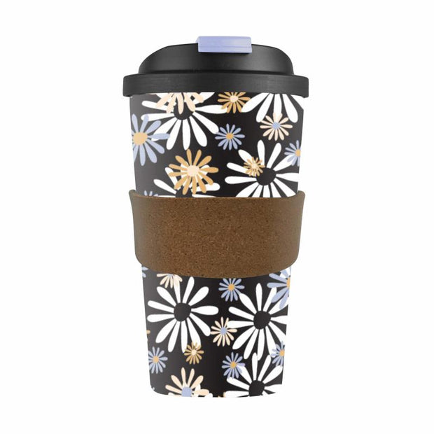 Karlstert Eco Bamboo Cup 420ml Daisy