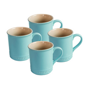Chasseur La Cuisson 4Piece Mug Set Duck Egg Blue