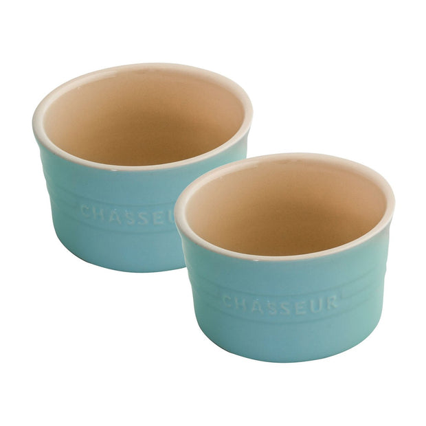 Chasseur La Cuisson Ramekin Set 2 Duck Egg Blue