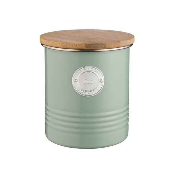 Typhoon Living Tea Canister 1Litre - Sage