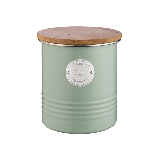 Typhoon Living Sugar Canister 1L - Sage