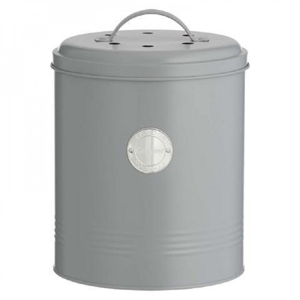 Typhoon Living Compost 2.5L Grey