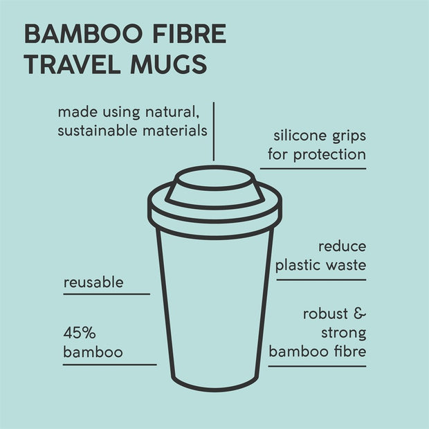 Typhoon Active Bamboo Travel Mug 380ml