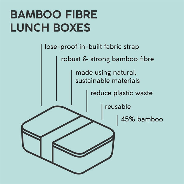 Typhoon Active Bamboo Lunch Box