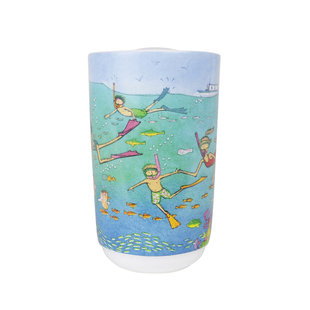 Robert Gordon Travel Mug - Alison Lester Ocean