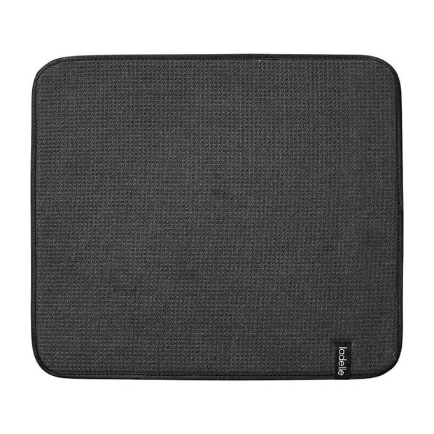 Ladelle Microfibre Black Dish Drying Mat