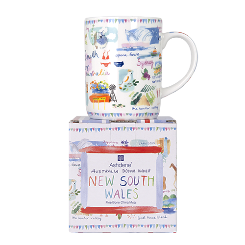 Australia Down Under New South Wales Mug