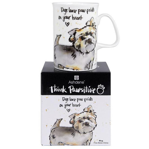 Ashdene Think Pawsitive Mug Yorkshire Terrier