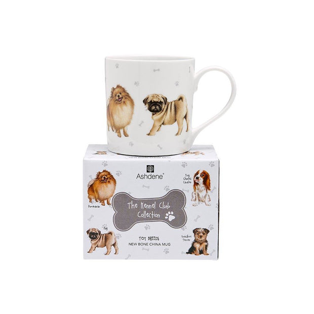 Ashdene Kennel Club Toy Breeds City Mug