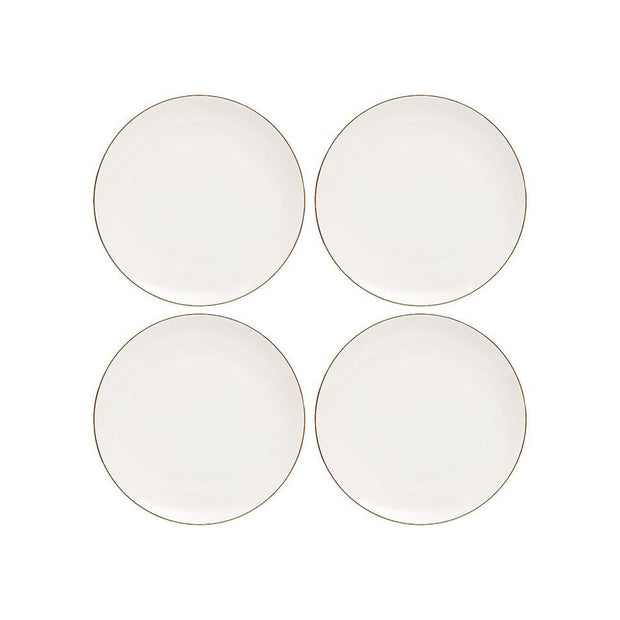 Parisienne White 20cm Side Plates - Set of 4