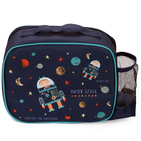 Ashdene Kids Blast Off Insulated Lunch Bag