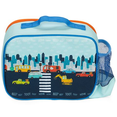 Ashdene Kids On The Road Insulated Lunch Bag