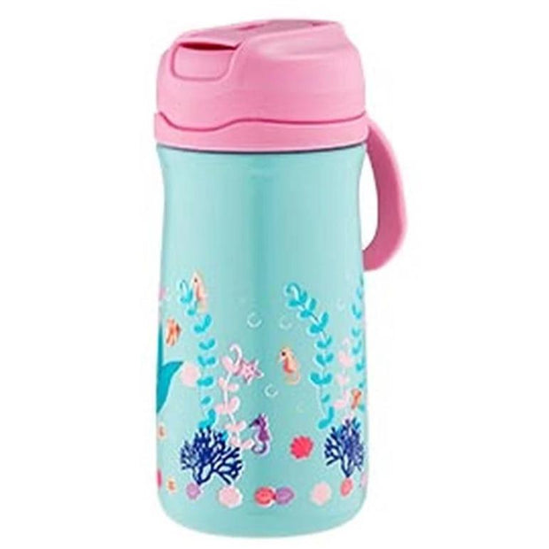 Ashdene Kids Mermaids 370ml Drink Bottle