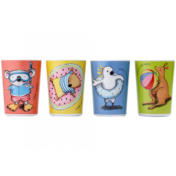 Ashdene Summer with Barney Tumbler Set of 4