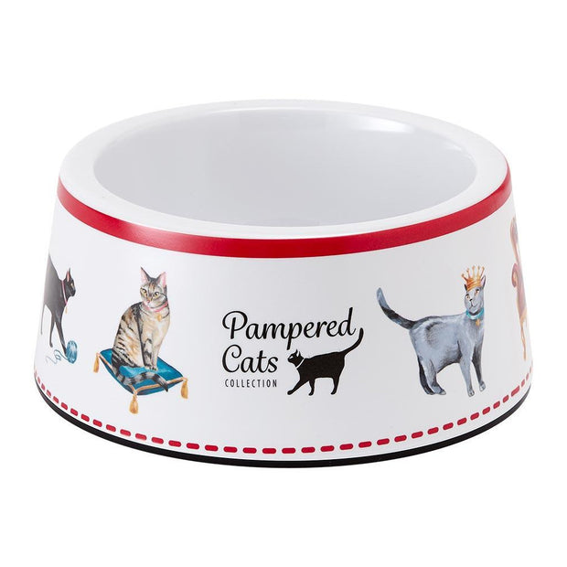 Pampered Cats Large Pet Bowl