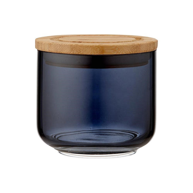 Ladelle Stak Glass 9cm Canister - Midnight