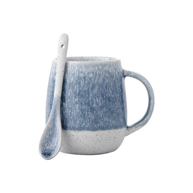 Ladelle Lodge Mug & Spoon Set - Blue