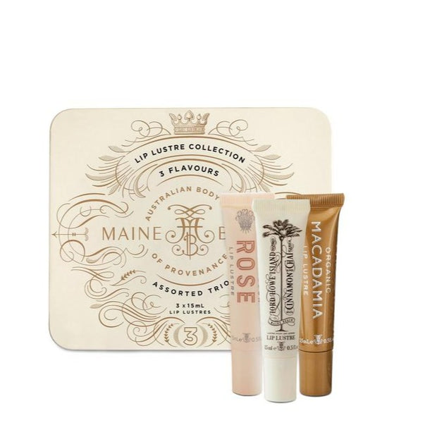 Maine Beach Lip Lustre Assorted Trio Collection