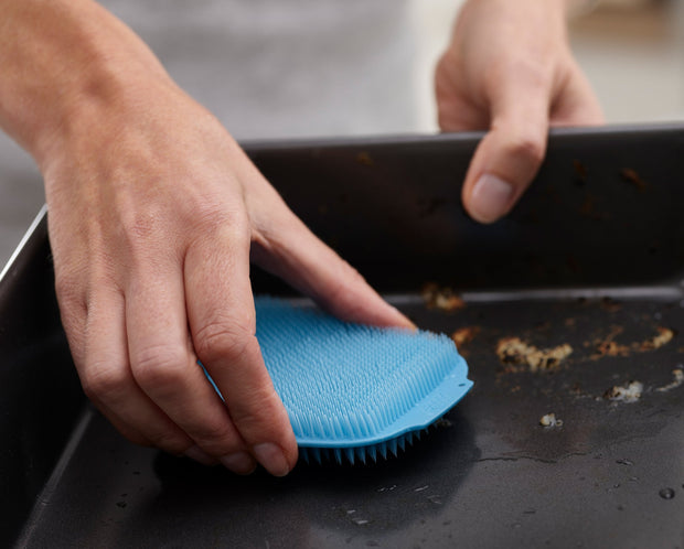 CleanTech Washing-up Scrubbers - Blue