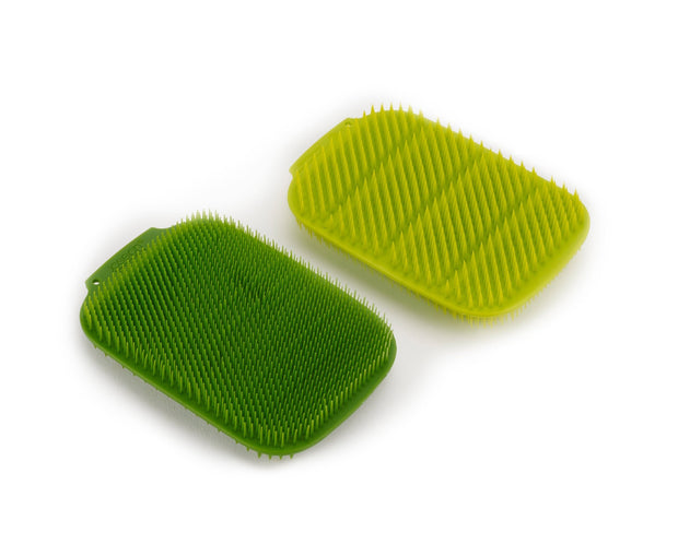 CleanTech Washing-up Scrubbers - Green