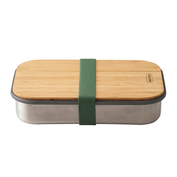 Black + Blum Stainless Steel Sandwich Box Olive 900ml