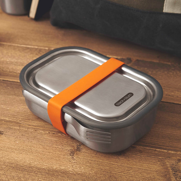 Black + Blum Stainless Steel Lunch Box Orange 1L
