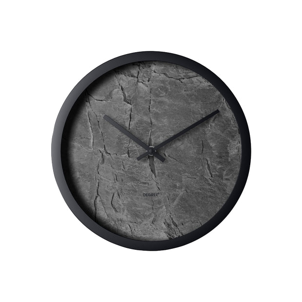 Degree Slate Distressed Clock 30cm