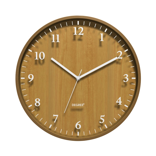 Degree Bentwood Silhouette Clock 40cm
