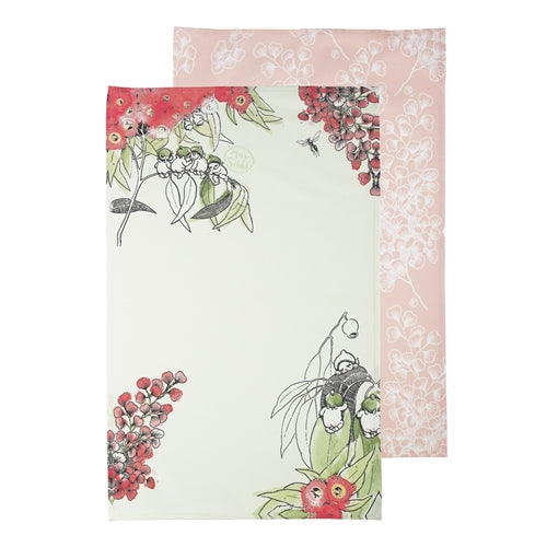 Ecology May Gibbs Gumnut Tea Towels Set of 2
