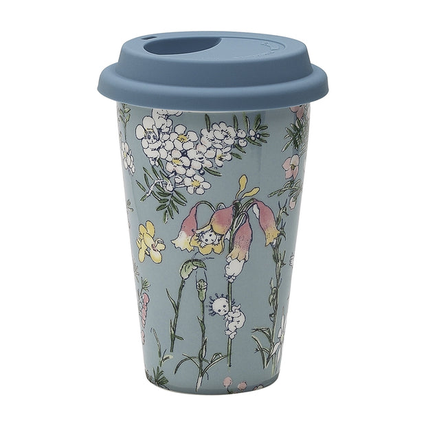 May Gibbs Travel Mug Flower Babies 240ml
