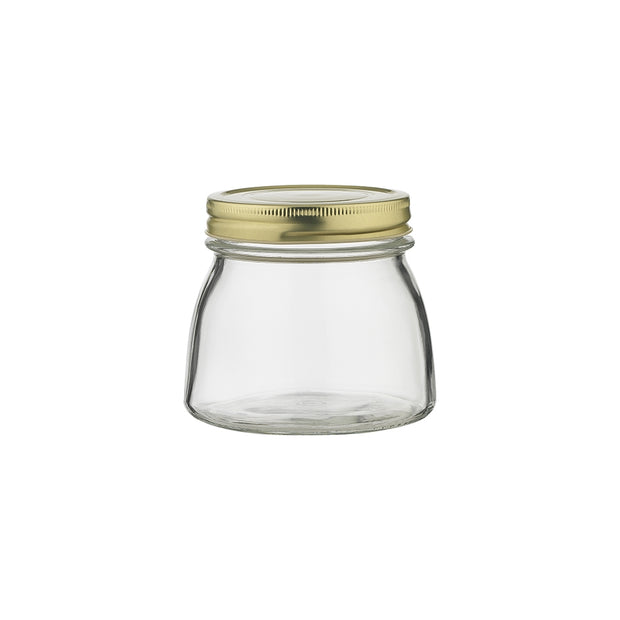 Ecology Source Glass Preserve Jar With Lid 500ml