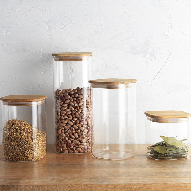 Ecology Pantry Square Canister 10.5cm