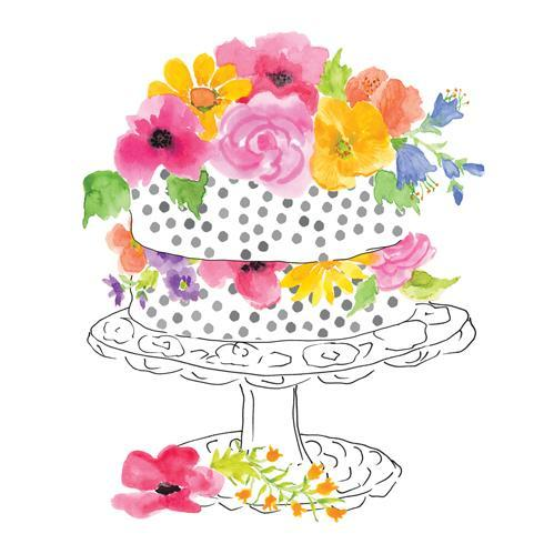 PPD Cocktail Napkins - Sweet Celebrations