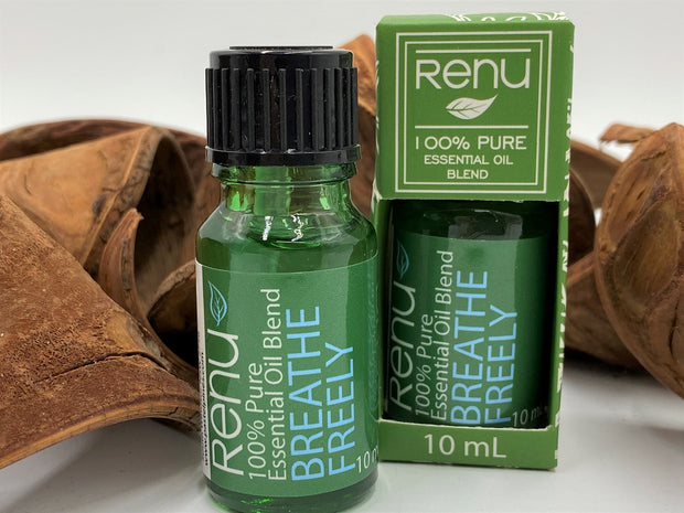 Renu Breathe Freely - 100% Pure Essential Oil Blend