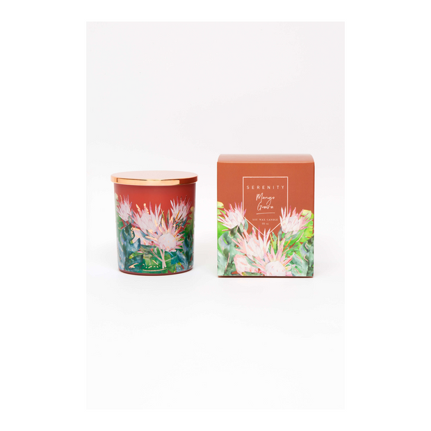 Mystic Garden Soy Candle - Mango Guava