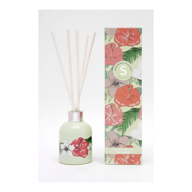 Tropical Reed Diffuser - Ripe Raspberry
