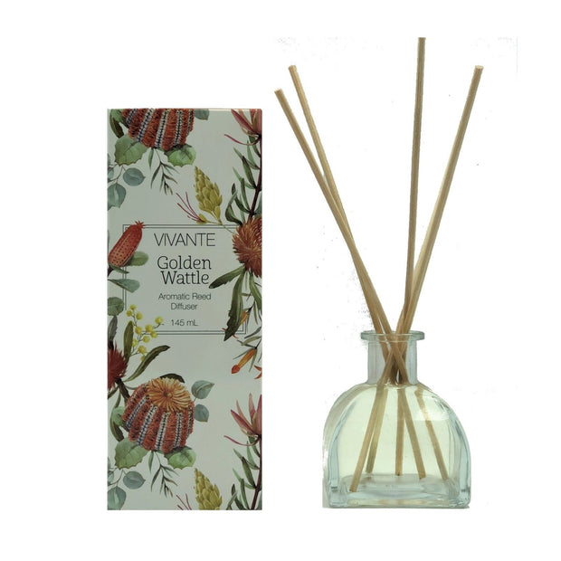 Golden Wattle Australiana Reed Diffuser