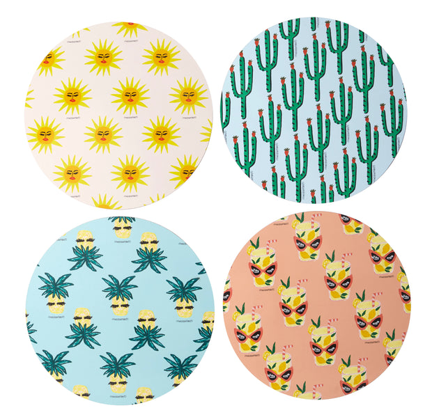 Fruity Tropics Placemats - Set of 4