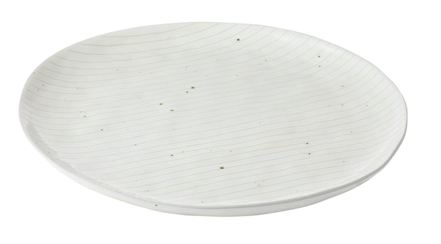 Acadamy Home Goods Pinstripe Plate - Large