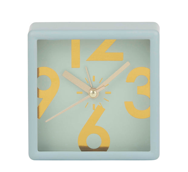 Emporium Lani Mantle Clock - Mint