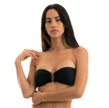 Load image into Gallery viewer, Top Kiwanda Preto Bandeau