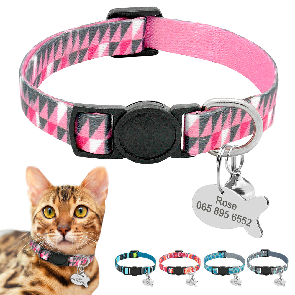 Named Me Then Tag Me Personalized Tag Collar