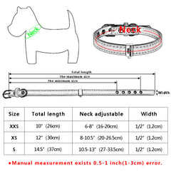 Personalized ID Collar + Free Bell
